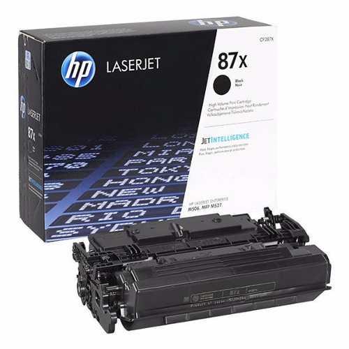Заправка картриджа HP CF287X