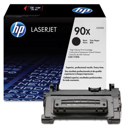 Заправка картриджа HP CE390X