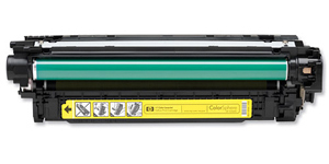 Заправка картриджа HP CE402A
